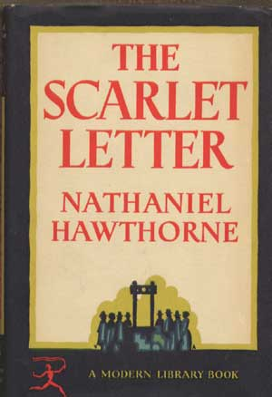 The Scarlet Letter Book Cover Nathaniel Hawthorne